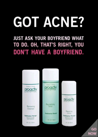 You proactive for adults acne was registered