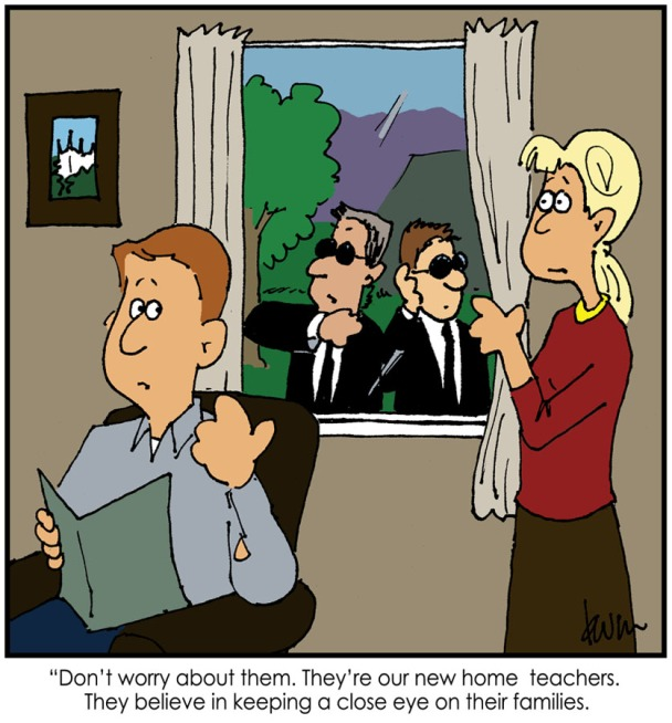 home teachers cartoon