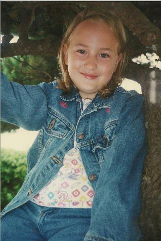 Amber at age 7.