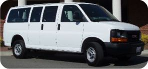 And there was in the church parking lot, a multitude of heavenly eight passenger vans, praising procreation.