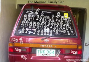 the mormon family car