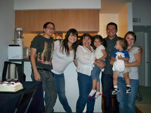 Mi familia.